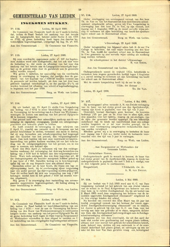 Handelingen van de Raad 1909-04-26