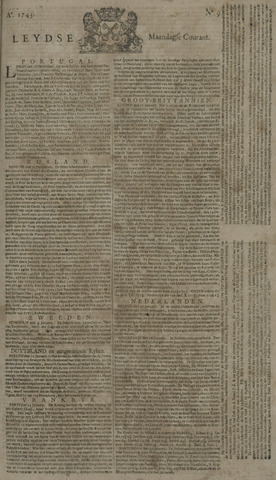 Leydse Courant 1743-01-21