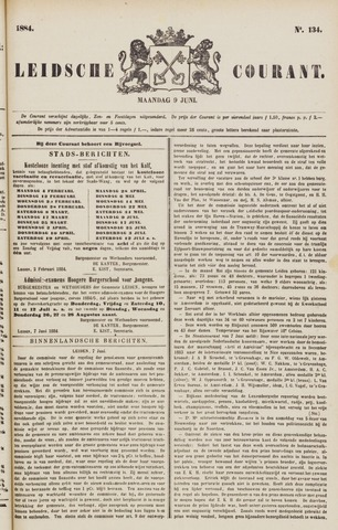 Leydse Courant 1884-06-09