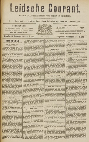 Leydse Courant 1887-12-27