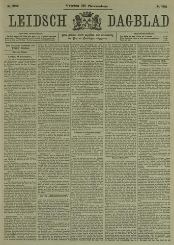 Leidsch Dagblad 1909-11-19