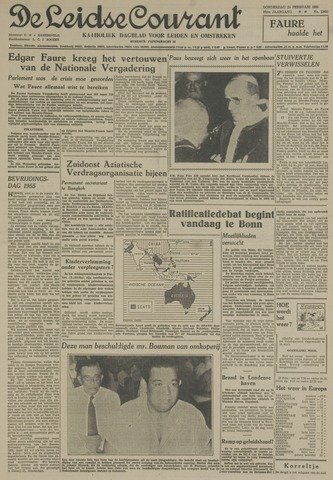 Leidse Courant 1955-02-24