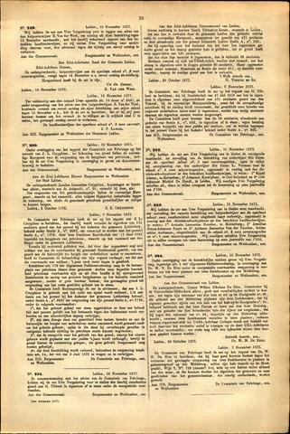 Handelingen van de Raad 1877-11-13