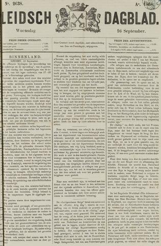 Leidsch Dagblad 1868-09-16