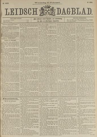 Leidsch Dagblad 1896-02-12