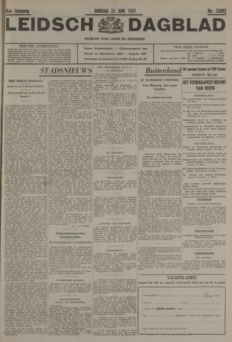 Leidsch Dagblad 1937-06-22