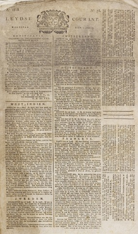 Leydse Courant 1818-07-01