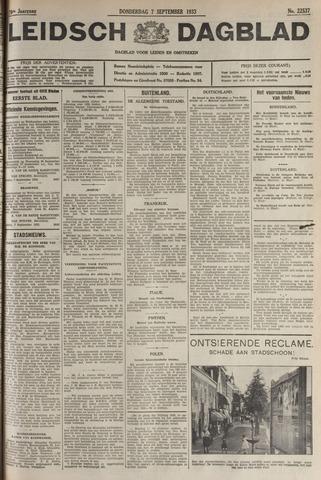 Leidsch Dagblad 1933-09-07
