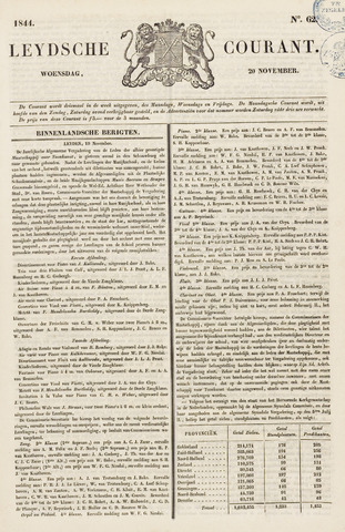Leydse Courant 1844-11-20