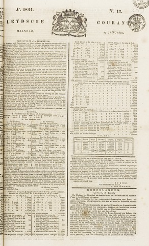 Leydse Courant 1844-01-29