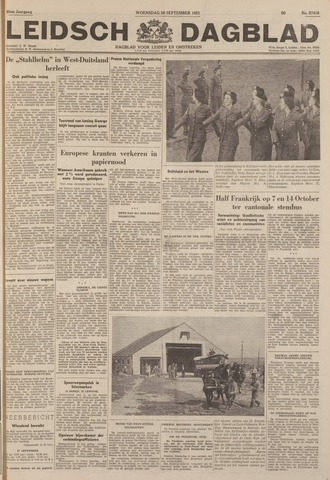 Leidsch Dagblad 1951-09-26