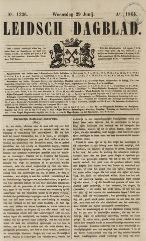 Leidsch Dagblad 1864-06-29