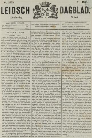 Leidsch Dagblad 1868-07-09