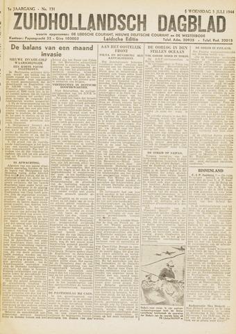 Zuidhollandsch Dagblad 1944-07-05