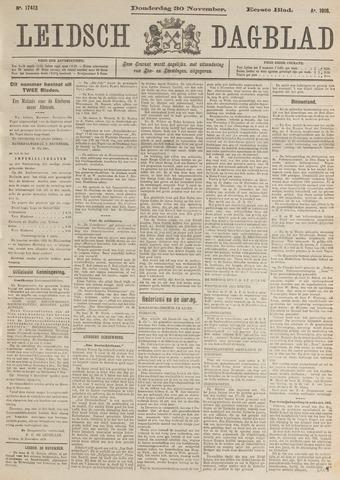 Leidsch Dagblad 1916-11-30