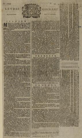 Leydse Courant 1809