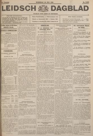 Leidsch Dagblad 1930-07-30
