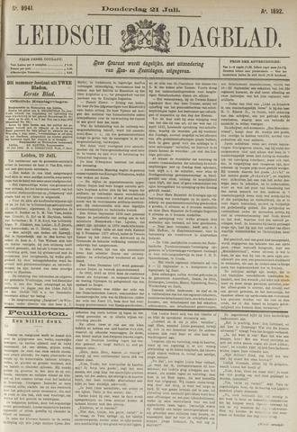 Leidsch Dagblad 1892-07-21