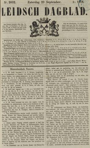 Leidsch Dagblad 1866-09-29