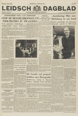 Leidsch Dagblad 1961-02-09
