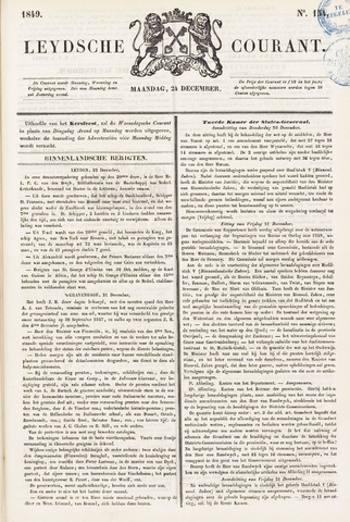 Leydse Courant 1849-12-24