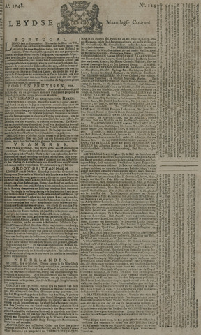 Leydse Courant 1748-10-14