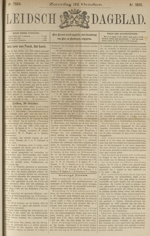 Leidsch Dagblad 1885-10-31