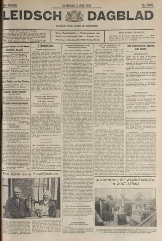 Leidsch Dagblad 1933-06-03