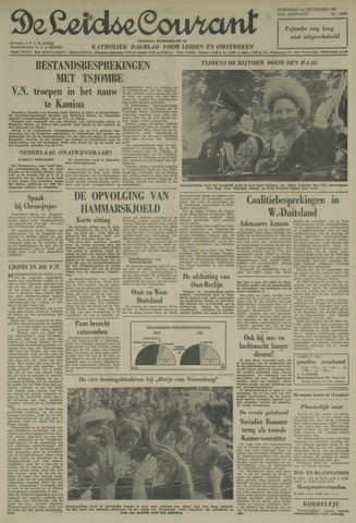 Leidse Courant 1961-09-20