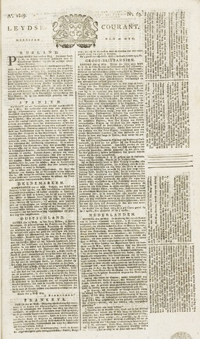 Leydse Courant 1819-05-26