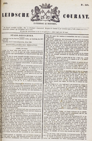 Leydse Courant 1882-10-21