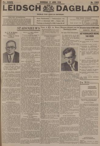 Leidsch Dagblad 1938-04-27