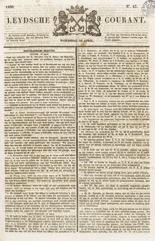 Leydse Courant 1860-04-18