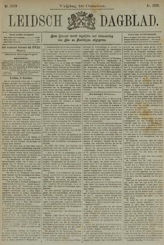 Leidsch Dagblad 1890-10-10