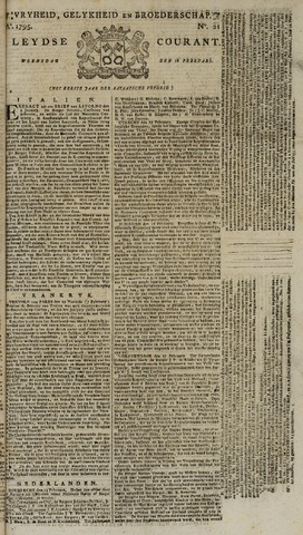 Leydse Courant 1795-02-18