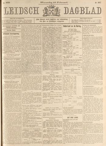 Leidsch Dagblad 1915-02-10