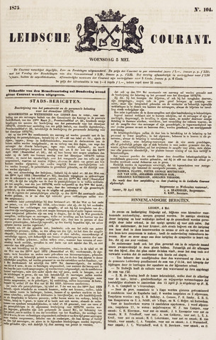Leydse Courant 1875-05-05