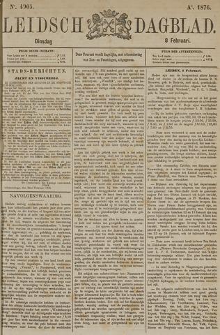 Leidsch Dagblad 1876-02-08