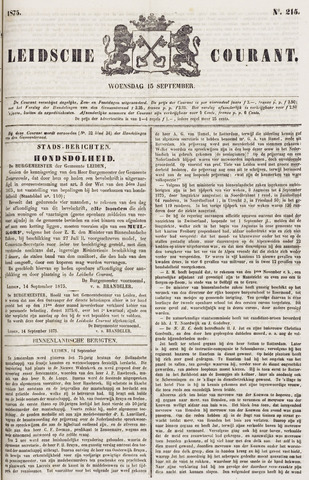 Leydse Courant 1875-09-15