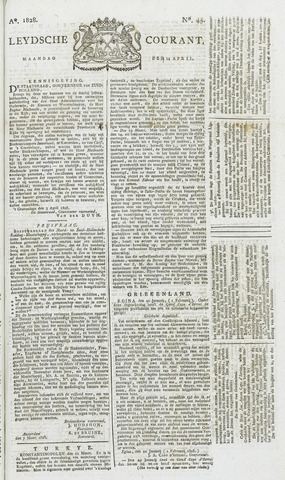 Leydse Courant 1828-04-14