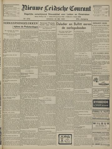 Nieuwe Leidsche Courant 1939-05-30