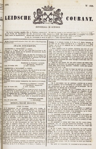 Leydse Courant 1876-10-26