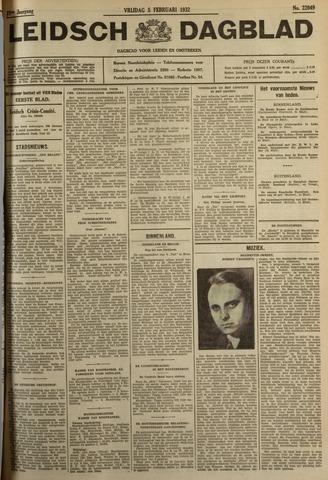 Leidsch Dagblad 1932-02-05