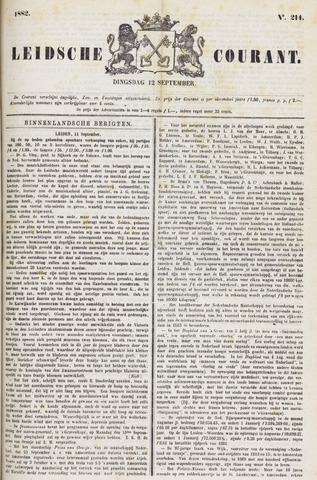 Leydse Courant 1882-09-12
