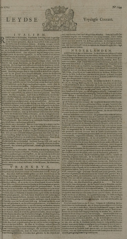 Leydse Courant 1725-11-30
