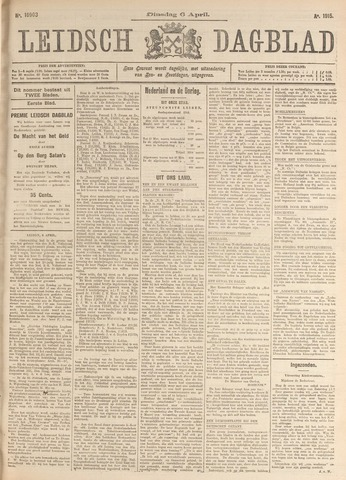 Leidsch Dagblad 1915-04-06
