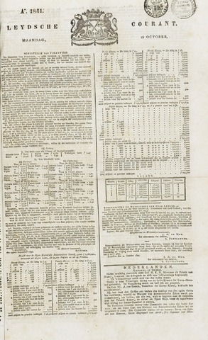 Leydse Courant 1841-10-18