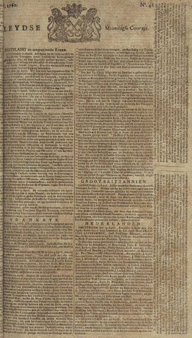 Leydse Courant 1760-04-21