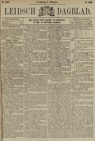 Leidsch Dagblad 1890-03-07