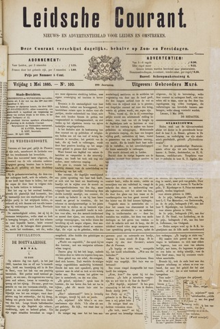 Leydse Courant 1885-05-01